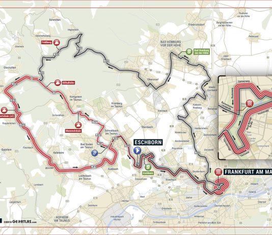 Strecke U23 Eschborn-Frankfurt