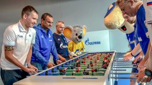 Gazprom RusVelo Schalke 04 Europa Park