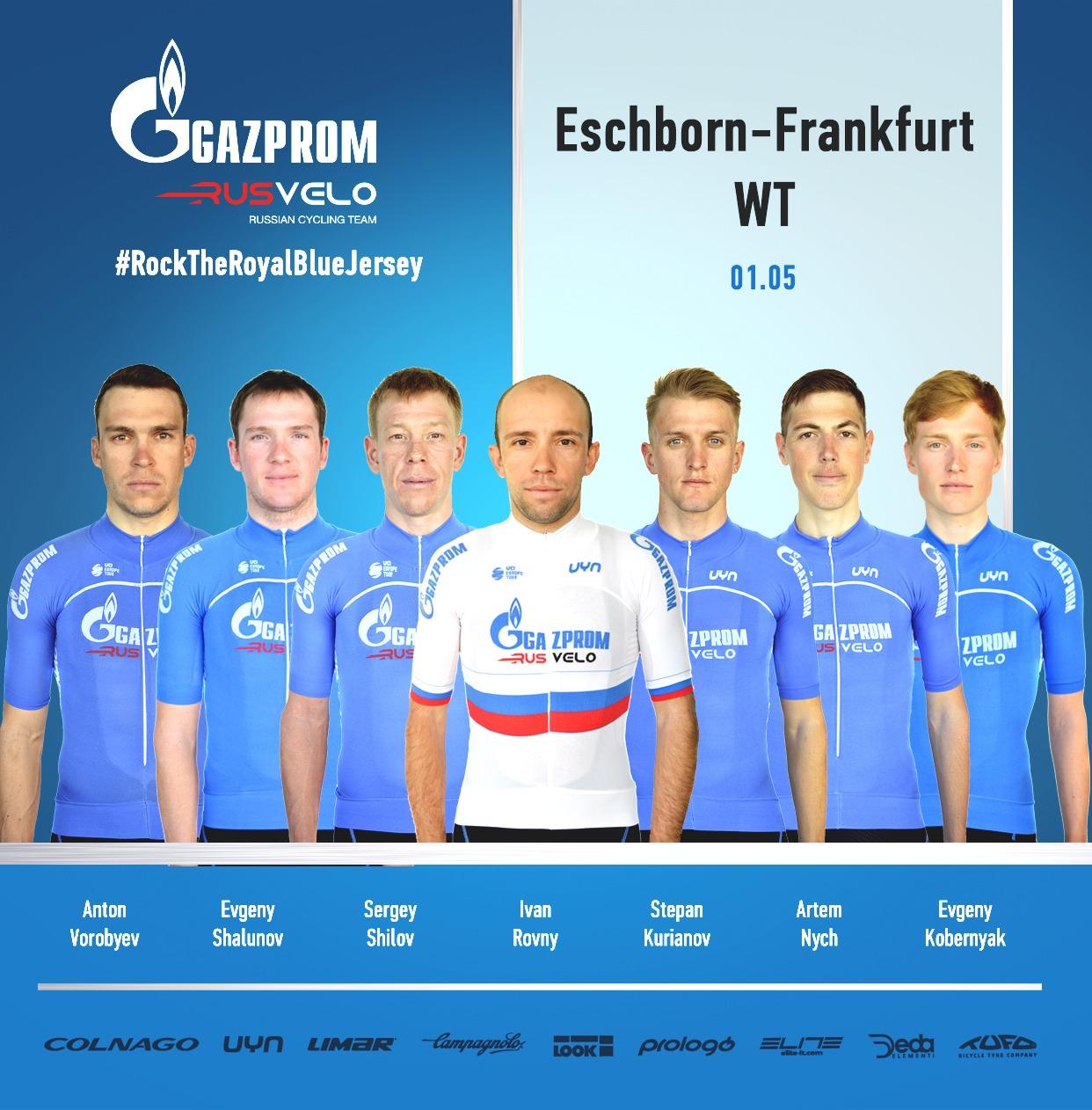 Gazprom-RusVelo Eschborn-Frankfurt 2019