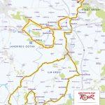 Jedermann Tour Thüringen 2019 Strecken Karte