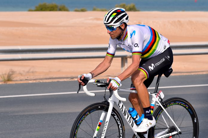 Valverde ABUS Weltmeister Movistar Team