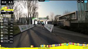 Skoda Velotour E.Race Eschborn Frankfurt Virtuell Rouvy Pascal Ackermann