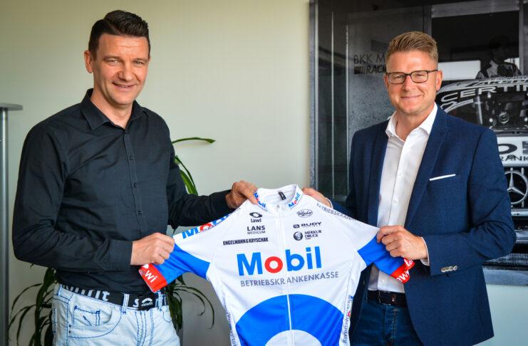 Mario Heise Vorstandsvorsitzender Christian Dierks Leitung Marketing BKK Mobil Oil