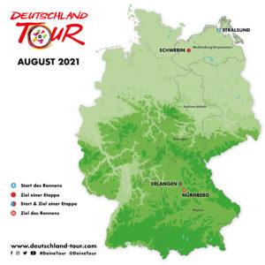 Deutschland Tour 2021 Erlangen