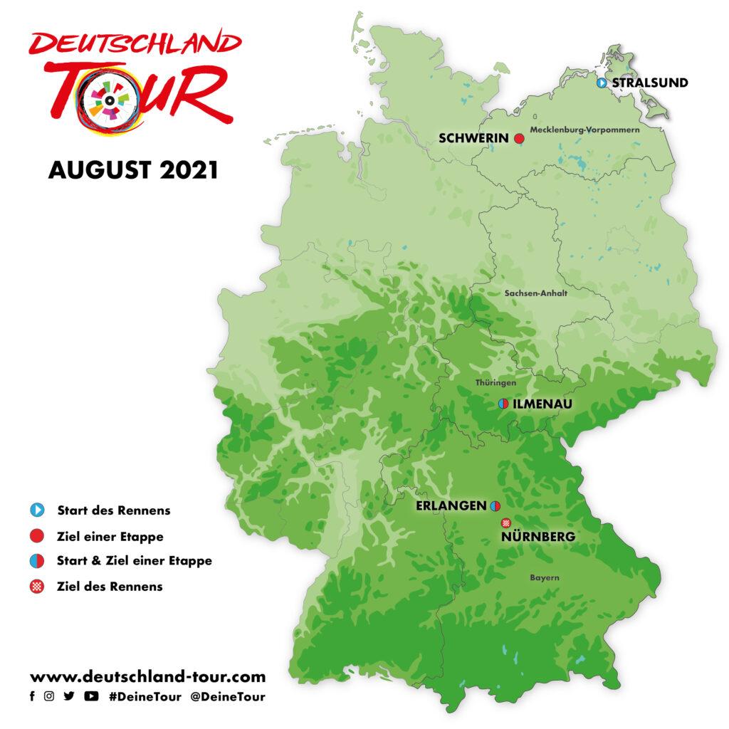 Deutschland Tour 2021 Ilmenau