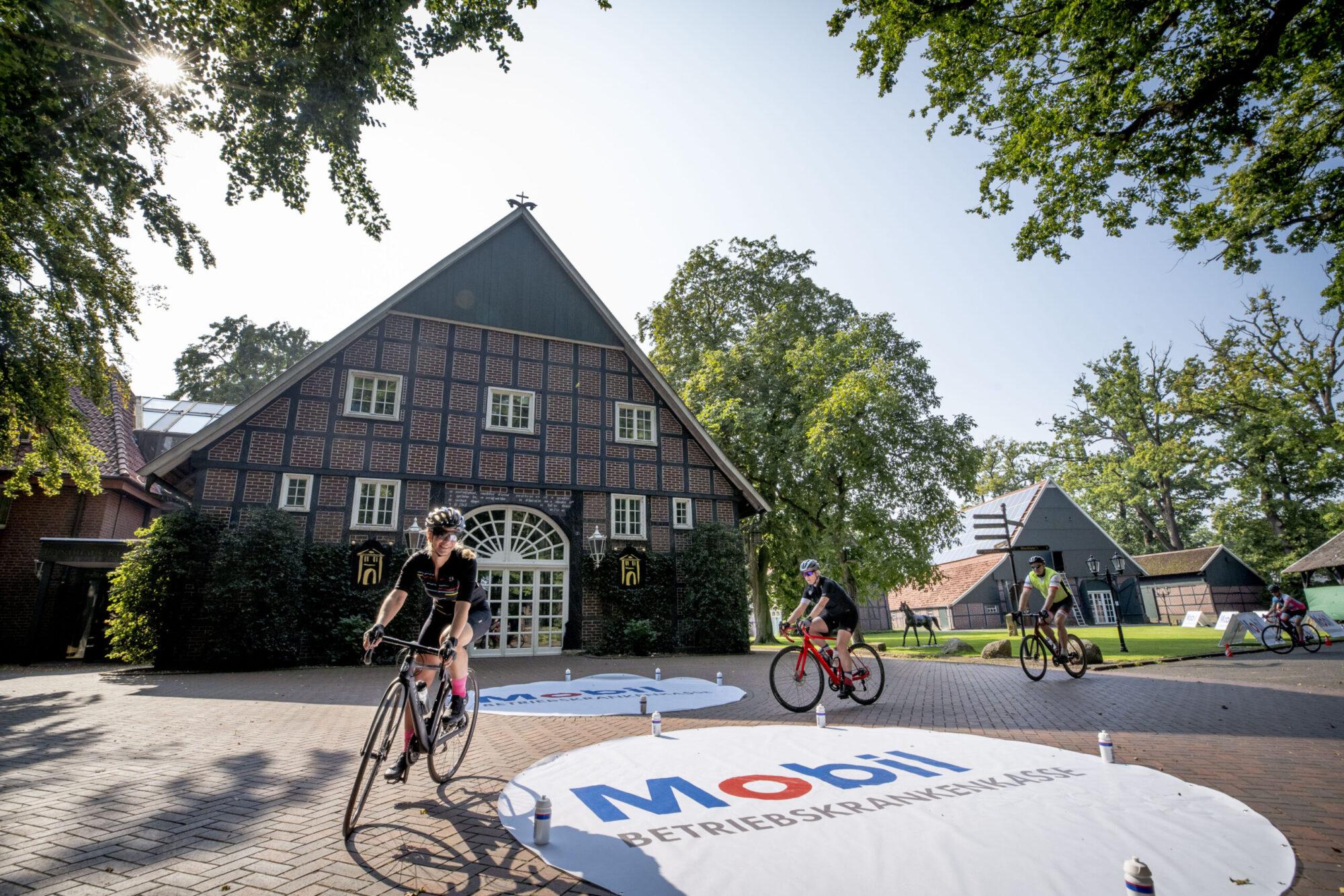 Radsport Fahrsicherheit Workshop BKK Mobil Oil