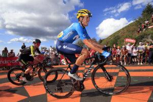 ABUS helmets Movistar Team Tour de France
