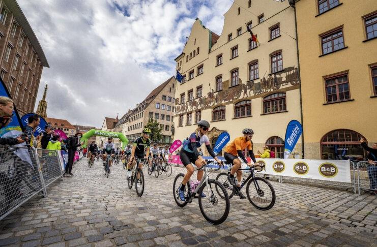 Marcel Kittel Nadine Berneis Jedermann Tour Deutschland Tour Nürnberg